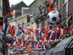 Football craze in Maastricht