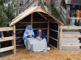 Live nativity scene in Deventer