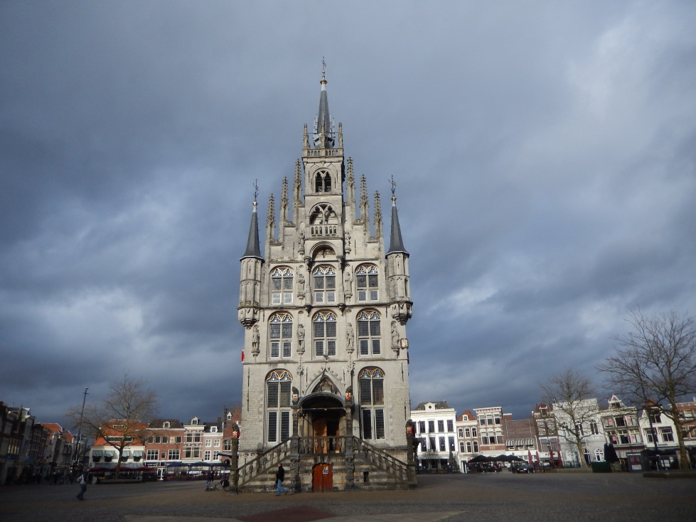 The town hall in Gouda, built by Jan III Keldermans between 1448 and 1459