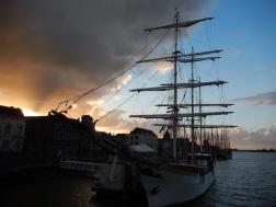 Sunset in Kampen