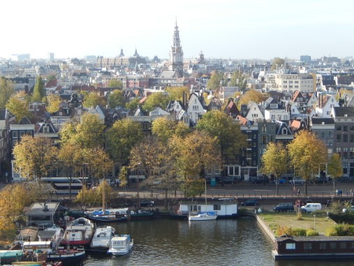 View from the Openbare Bibliotheek, Amsterdam