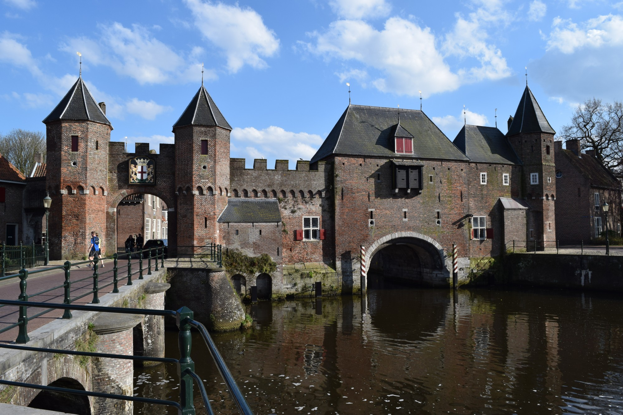 The Koppelpoort in Amersfoort, completed around 1425