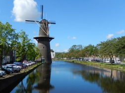 The tallest traditional Dutch windmills (Schiedam)