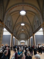 One of the halls of the Rijksmuseum
