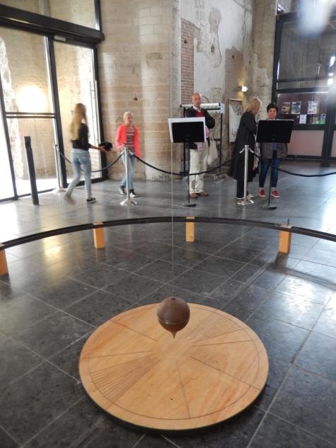 Foucault's pendulum in Veere
