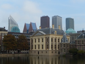 Postcard view in the Hague